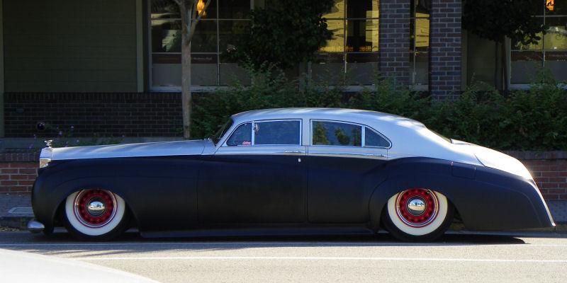 1959 Rolls Royce Silver Cloud Ii En Mode Custom Avec