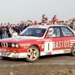 BMW M3 E30 aux mains de Patrick Snijers... Mythique !