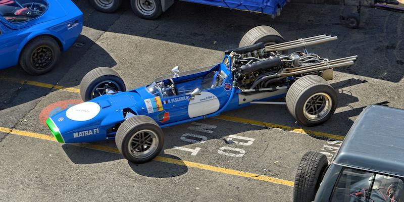 1968 Matra MS11- L'époque où les F1 avaient de la voix !