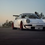 Porsche 964 Turbo RWB... Smoke & Donut ! 7