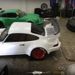 Porsche 964 Turbo RWB... Smoke & Donut ! 4