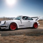 Porsche 964 Turbo RWB... Smoke & Donut ! 3