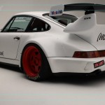 Porsche 964 Turbo RWB... Smoke & Donut ! 2