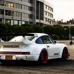 Porsche 964 Turbo RWB... Smoke & Donut ! 1