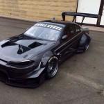 Silvia S14 - 15 swap V8 LS3 ... Tout droit sorti de l'enfer ! 4