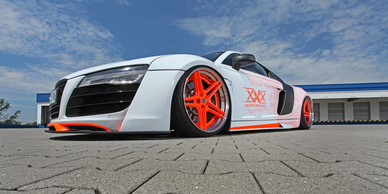 Audi R8 Slammed Killer from xXx … Pour les kings du parking !