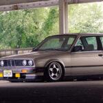 BMW Coupé E30 Slammed … Simplement !