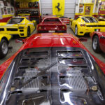 """The Bachman Ferrari Collection"" - La vie en ... jaune !"