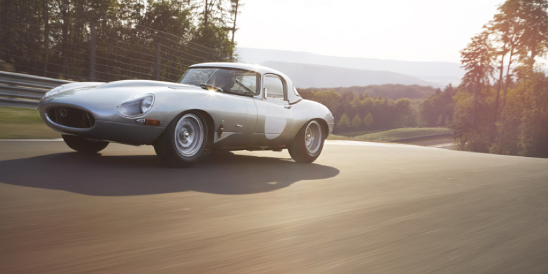 Jaguar E-Type Lightweight – Highlander !