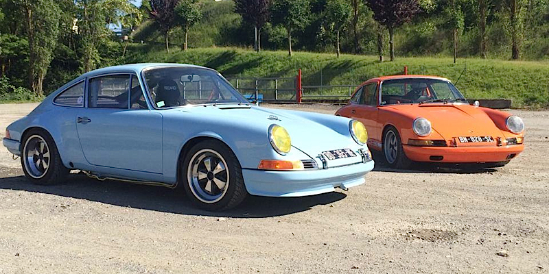 """Porsche 911 """"Machine Revival""""… Classic Outlaw made in France !"""