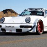 Porsche 964 Turbo RWB... Smoke & Donut !