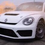 Tanner Foust et sa voiture de fonction ... Une Beetle de 540 ch !