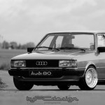Willy's '83 Audi 80 B2... Belle, tout simplement ! 8