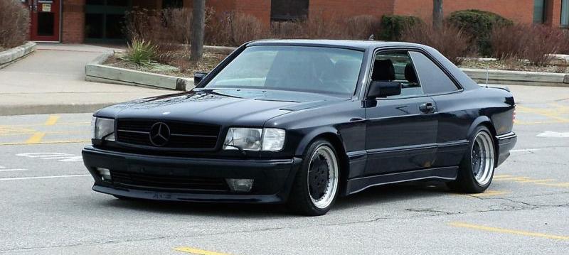 Mercedes 560 Sec Amg Une Histoire De Style Dledmv