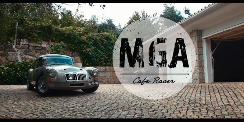 '61 MGA Café Racer : J'veux du cuir !