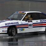 Opel Manta 400 GrB... Contrebraquer en ligne droite ! Si c'est possible...