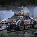 """Apocalyptic Machines"" : Science fiction chez les Supercars ! 9"