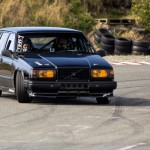 Drift on Highway... En Volvo 760 !