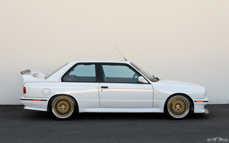 Alpine White M3 E30 Evo 2 Pour 100 000 T As Presque