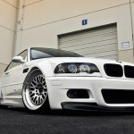 BMW M3 E46... Blanche comme neige !