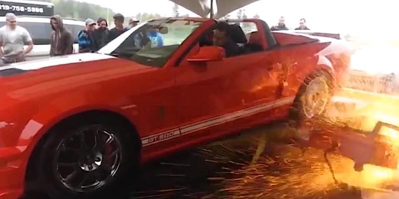Il a mis un Vtec sur sa Shelby GT500 ?!