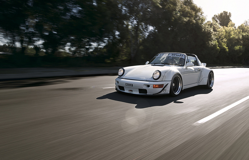 DLEDMV Porsche 964 Targa Rauh Welt Begriff Californie04