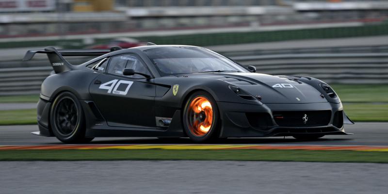 Engine Sound : Ferrari 599XX Evoluzione à Monza – Altitude !