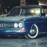 Audi 100 LS 1972 – Slammed classic saloon !