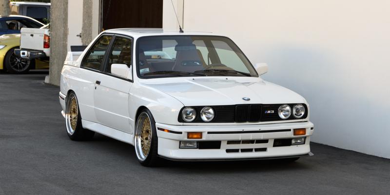Alpine White M3 E30 Evo 2… Pour 100.000 t'as presque plus rien !