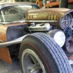 1957 Chevrolet Wagon Rat Rod : Rusty Metal !
