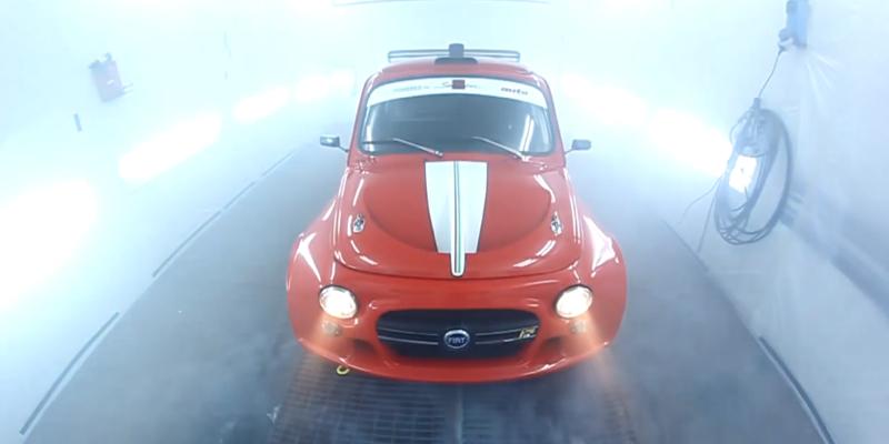 Fiat 500 HF Turbo… Italian Bomb !