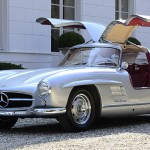 Mercedes 300 SL Gullwing Lightweight - Legend !