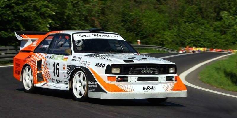 Embarquez pour un tour en Audi Quattro S1