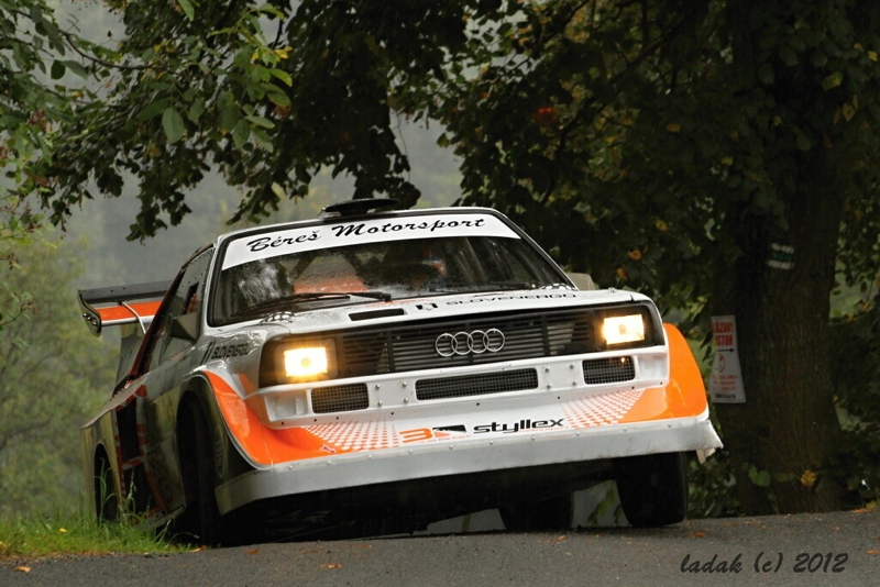 DLEDMV Audi Quattro S1 Onboard Jozef Beres 002