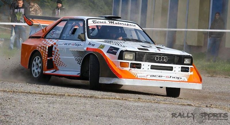 DLEDMV Audi Quattro S1 Onboard Jozef Beres 003
