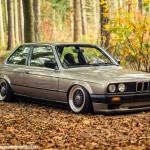 BMW E30 + Airlift + BBS = Dream Team 4