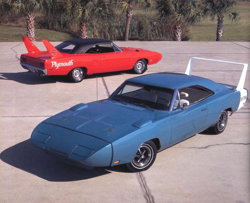 DLEDMV Plymouth Superbird & Dodge Daytona   001