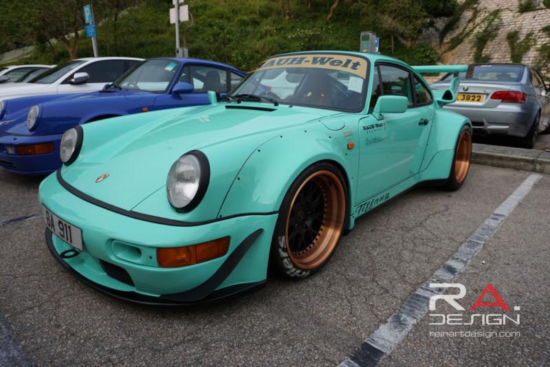 DLEDMV Porsche 964 RWB Hong Kong 012