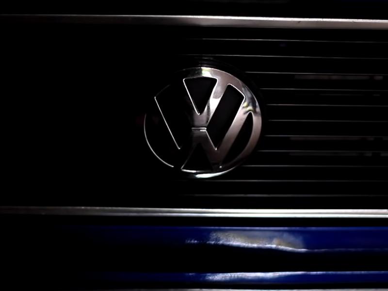 VW Golf Caddy – Air Ride du jour…