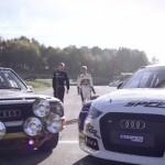 Röhrl et Ekström s'amusent au volant de la S1