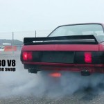 BMW E30 swap V8 : Machine à fumée !