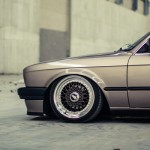 BMW E30 + Airlift + BBS = Dream Team