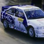 Mieux qu'un grand huit... Kankkunen en Escort WRC au rally de Finlande !