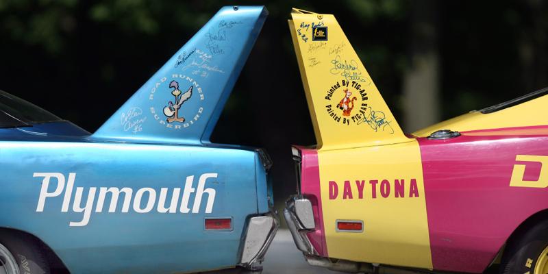 Dodge Charger Daytona & Plymouth Road Runner Superbird – Le jeu des 7 erreurs !