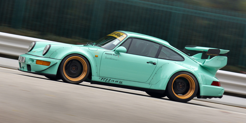 Akira à Hong Kong : Porsche 964 RWB Tiffany