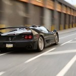 Engine Sound : Black Ferrari F50 in NYC