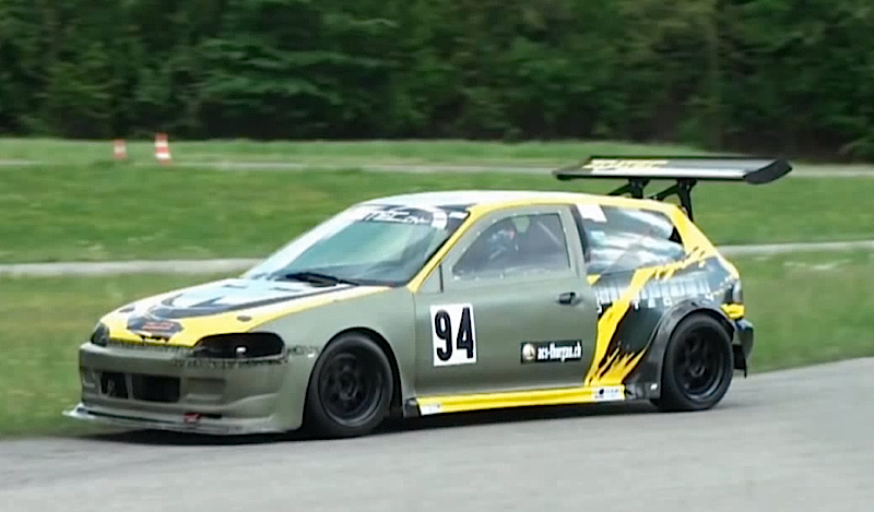 DLEDMV Honda Civic K24 Slalom Time Attack 001