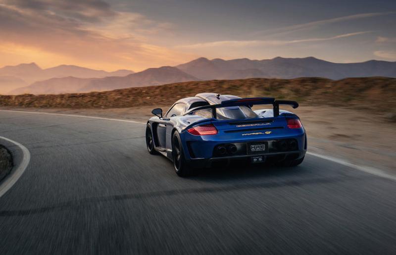 DLEDMV Porsche Carrera GT Gemballa Mirage HRE 03
