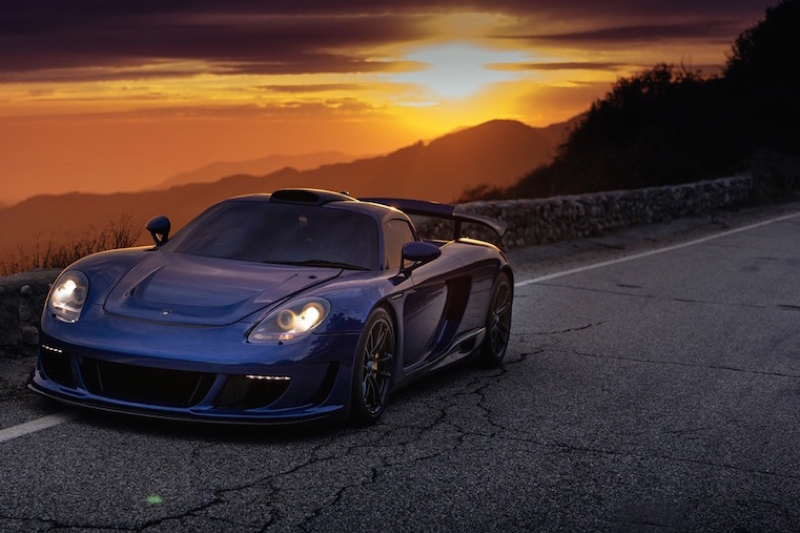 DLEDMV Porsche Carrera GT Gemballa Mirage HRE 07