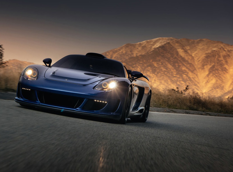 DLEDMV Porsche Carrera GT Gemballa Mirage HRE 12